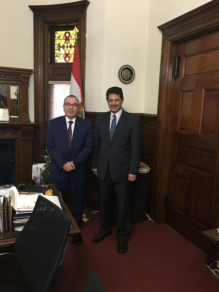 Dr. Mohamed Attalla with Dr